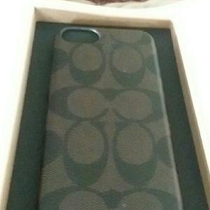 Coach IPhone 7 case